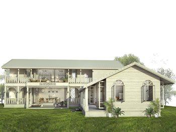 ประณีตงดงามตามแบบฉบับบ้านสไตล์โคโลเนียล-SCG-Experience