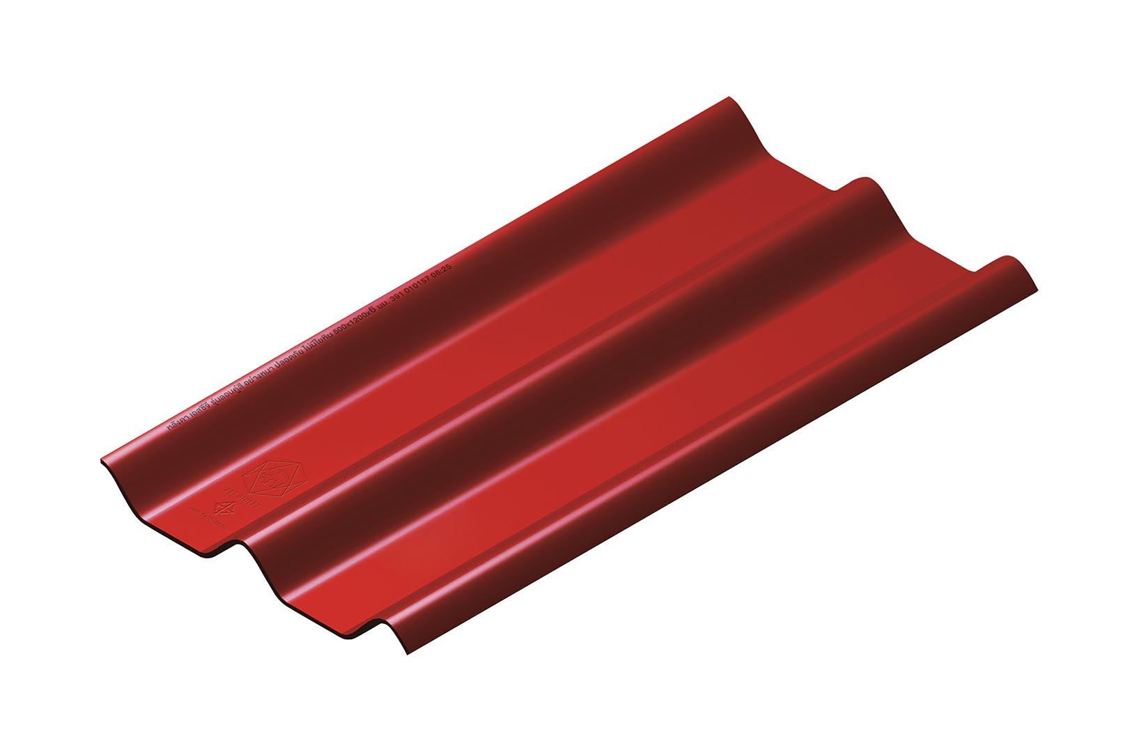 หลังคาไฟเบอร์ซีเมนต์-เอสซีจี-รุ่น-ลอนคู่ไฮบริด-50x120x0.55-Red