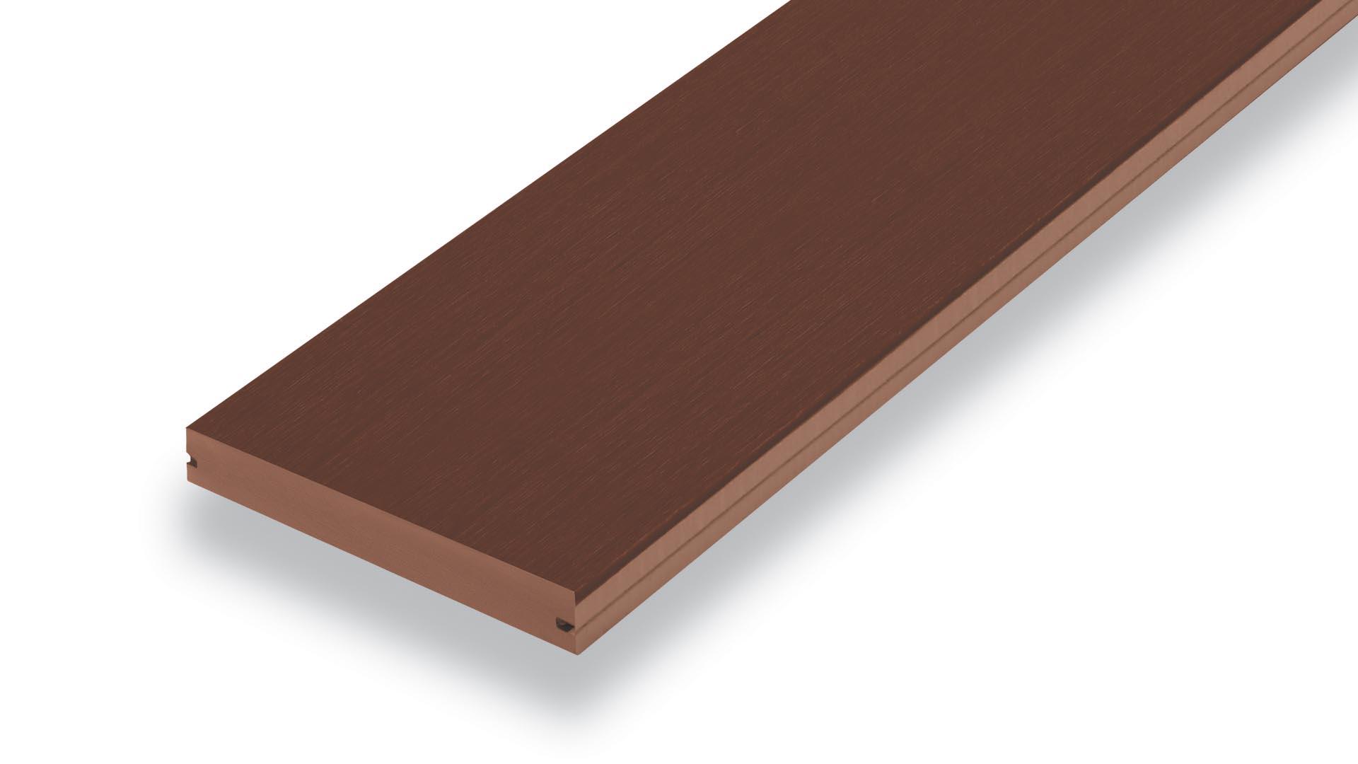 T-Clip Floor Plank - Wood Substitute Floor - Brown Oak