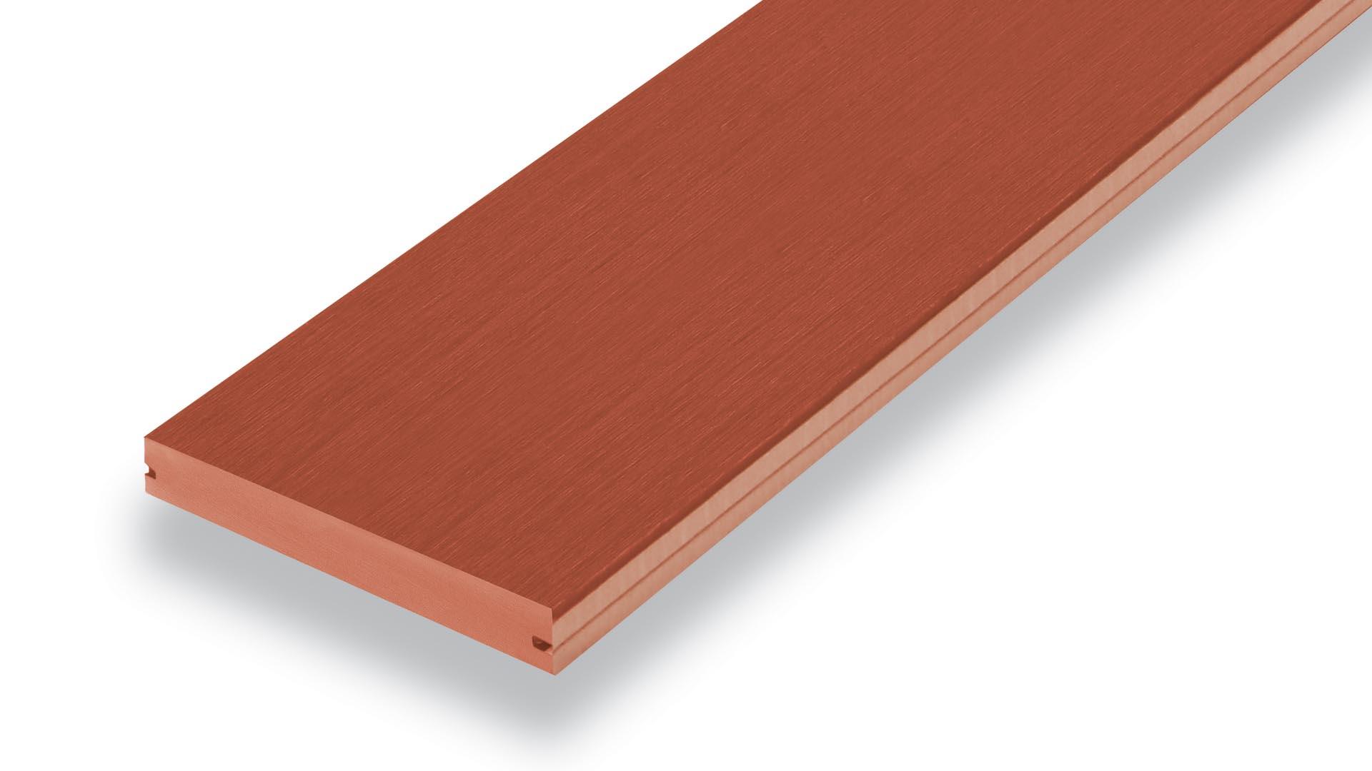 T-Clip Floor Plank - Wood Substitute Floor - Mahogany