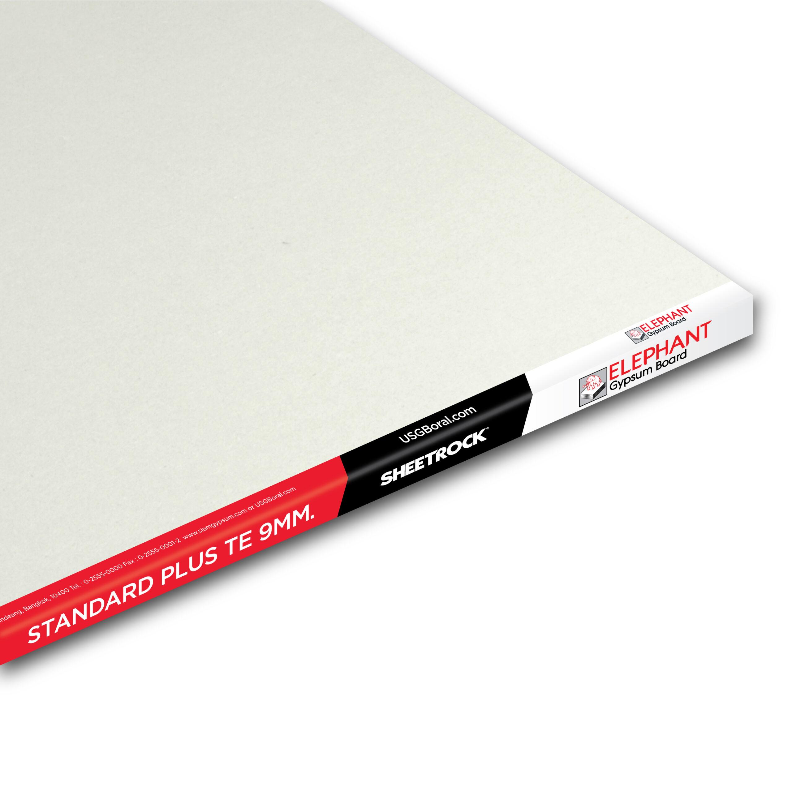 Best Gypsum Board Wall Ceiling Standard Plus-9MM-TE-3000x3000