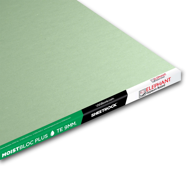 Best Moisture Resistance Gypsum Board Wall Ceiling MoistBloc Plus-9MM-TE-3000x3000