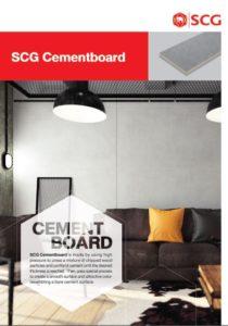 Cement Board Catalog Cover