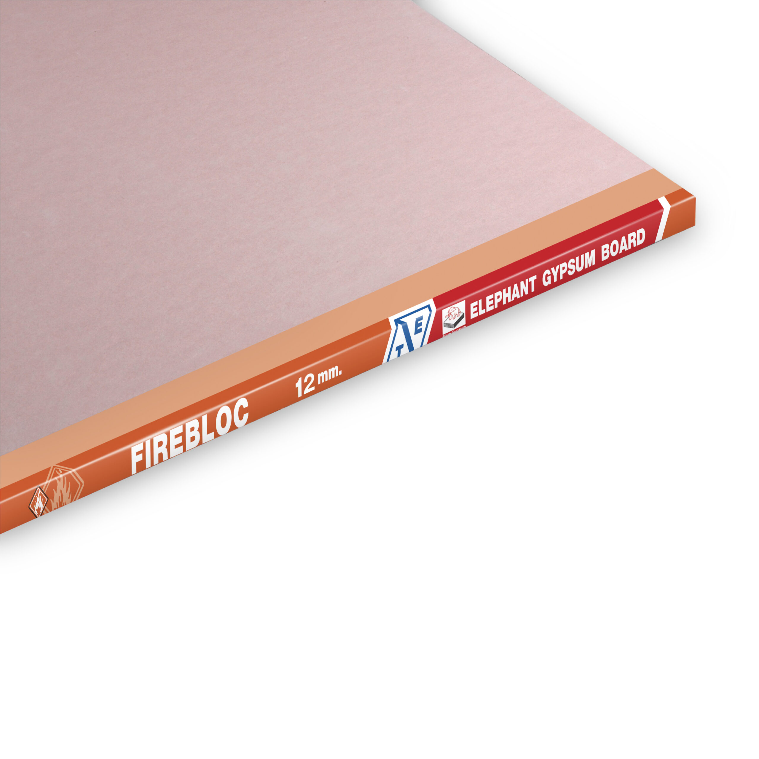 Good Fire Resistance Gypsum Board FireBloc-12MM-TE-3000x3000