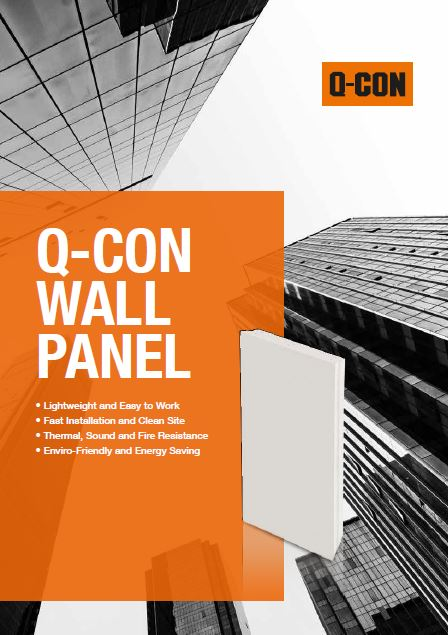 Q Con Wall Panel Catalog Cover