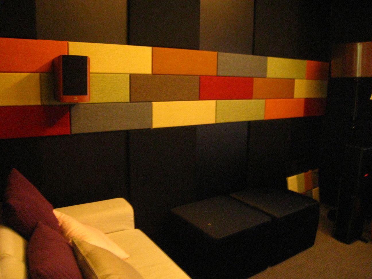 SCG sound absorbing materials installation Zandera Wall Decorative (12)