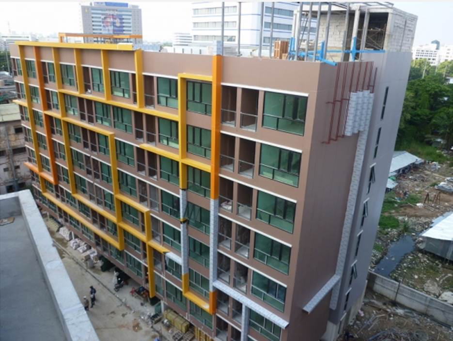 Speed Wall Partition construction for high rise building - SCG
