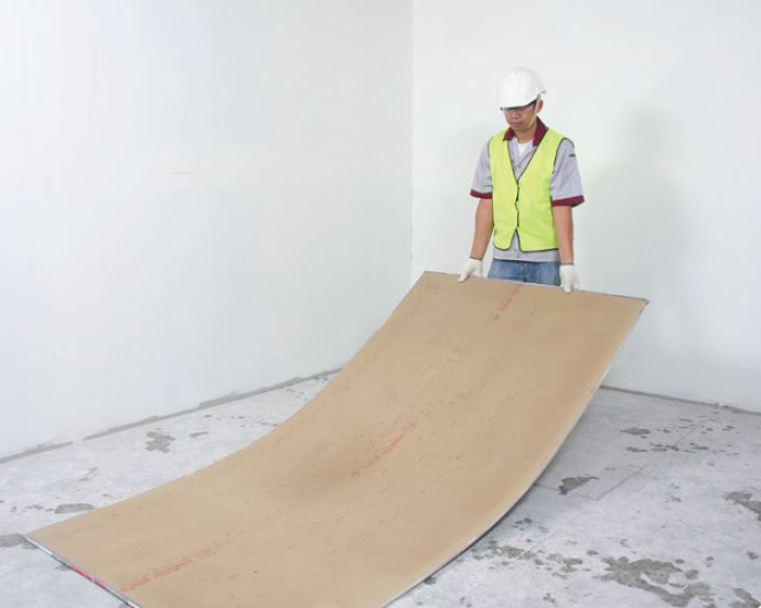 how to install gypsum board wall