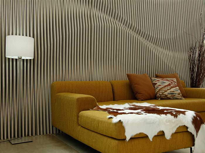 Decorate your wall by using SCG Fiber Cement Board