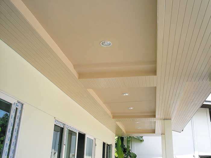 How to decorate your ceiling by using SCG fiber cement board
