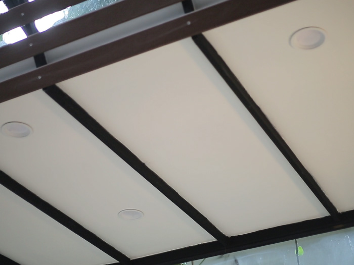 SCG Gypsum Ceiling on structure frame