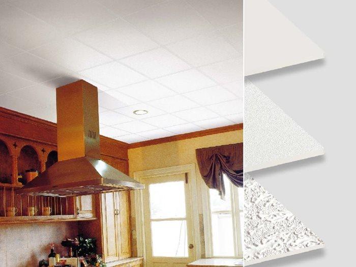 T Bar Gypsum ceiling decoration idea