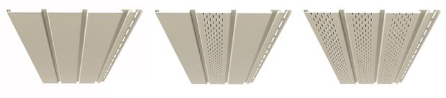 Vinyl ventilated ceiling