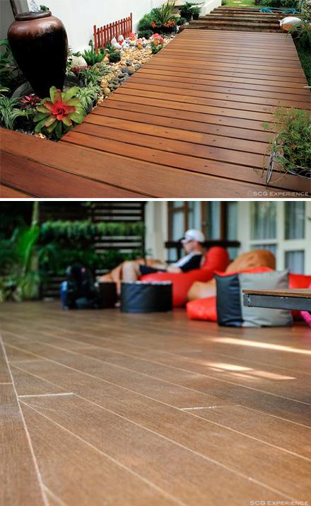 SCG Wood substitute for floor