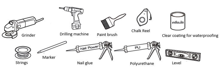 Tool and Equipment for Fiber Cement Board Installation