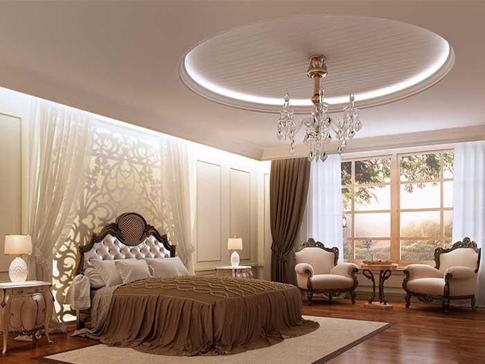 Luxury ceiling decoration idea