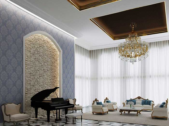 ceiling board for luxury decoration