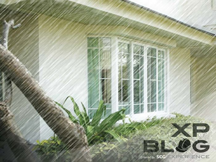 Handling the damp wall problem during rainy season