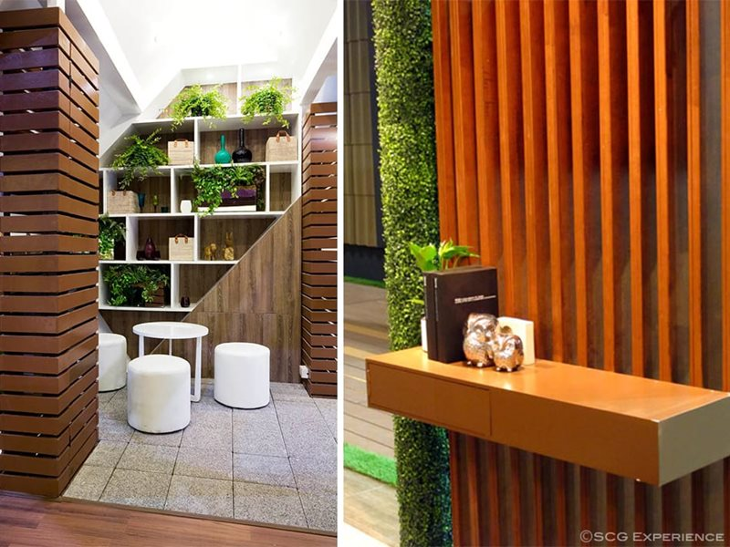 SCG artificial wood usage inspiration