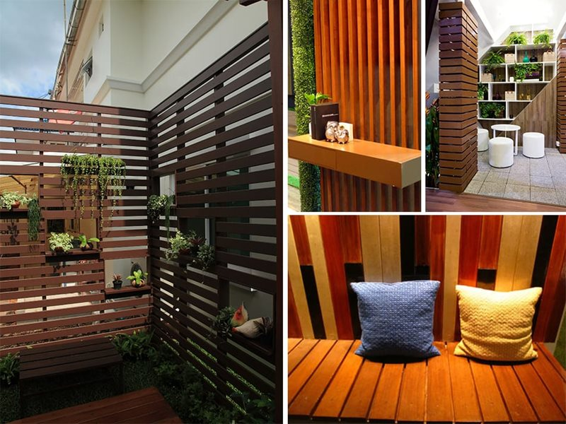 SCG artificial wood usage