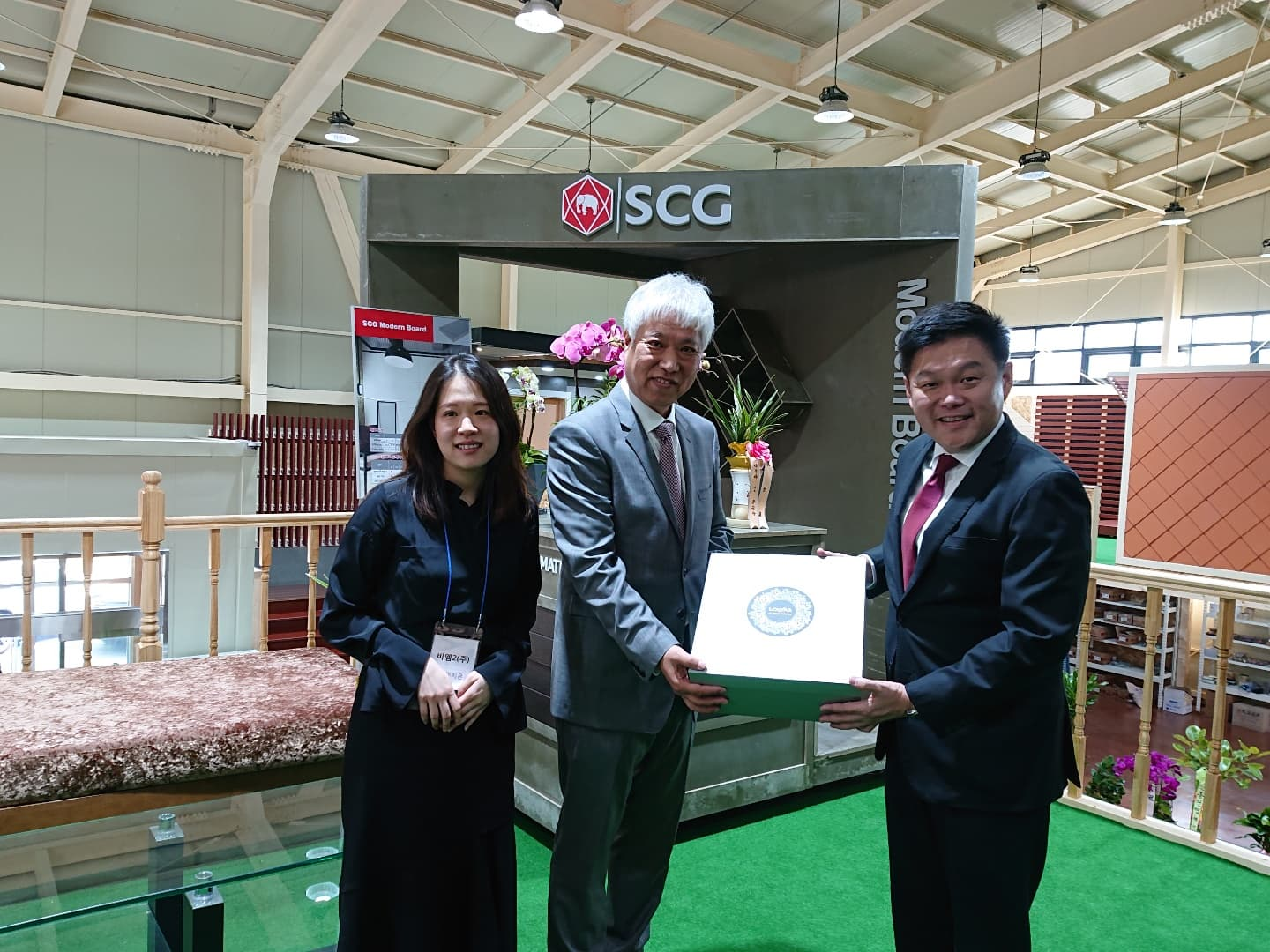 Best building materials showroom in South Korea by SCG
