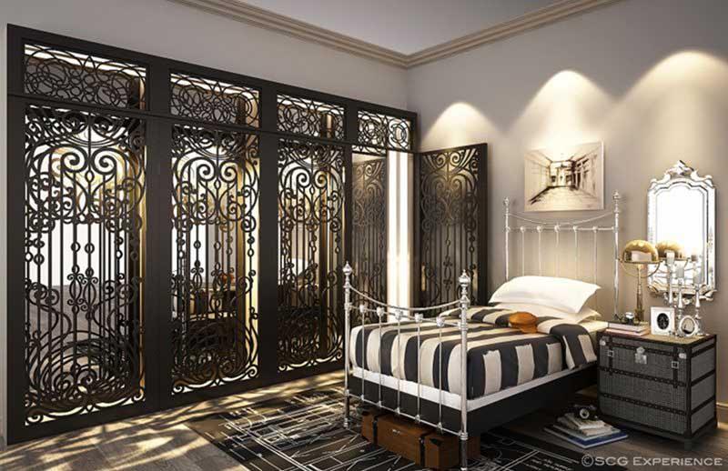 House lighting in bedroom idea