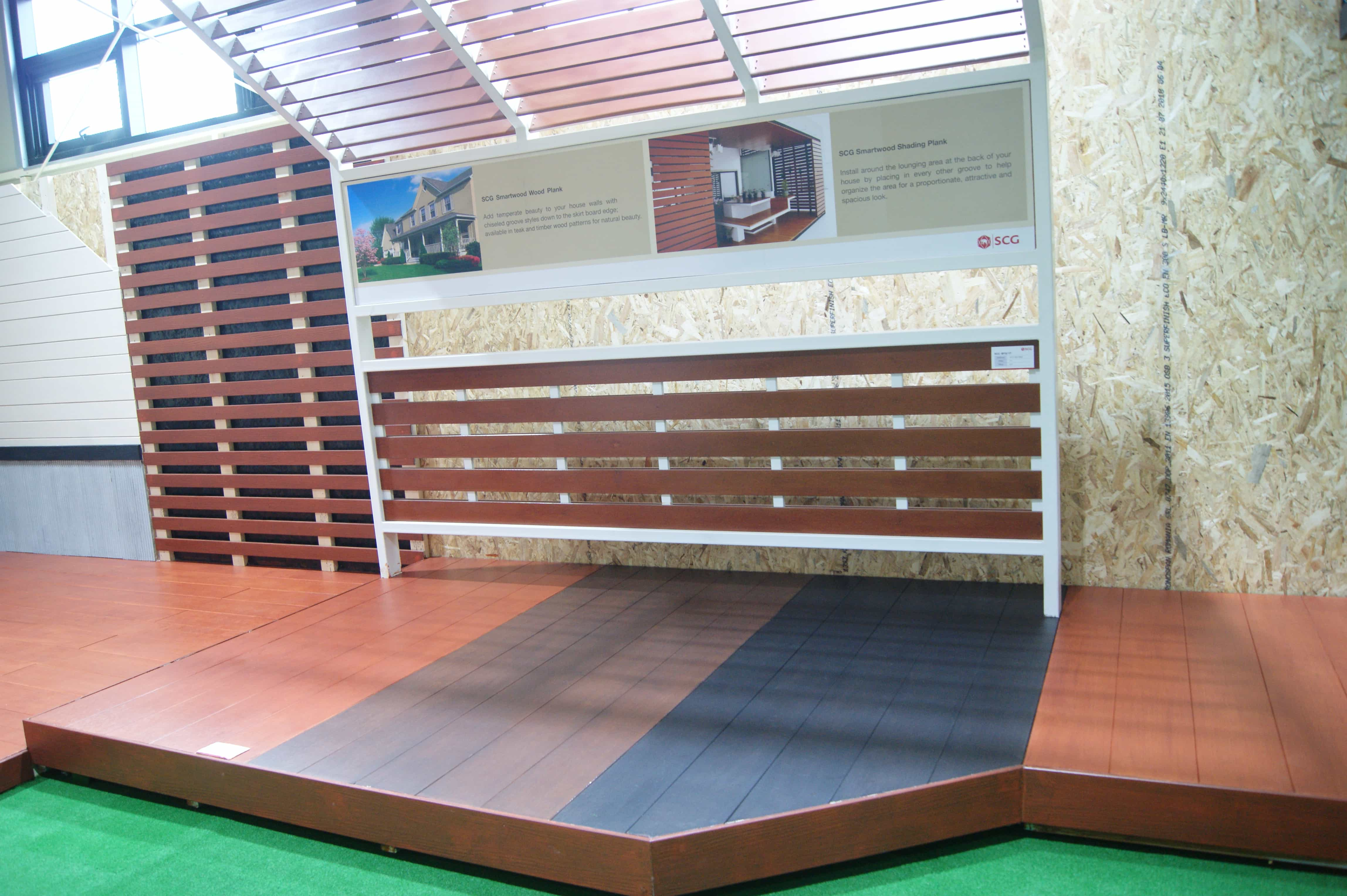 SCG Smartwood wood plank in South Korea