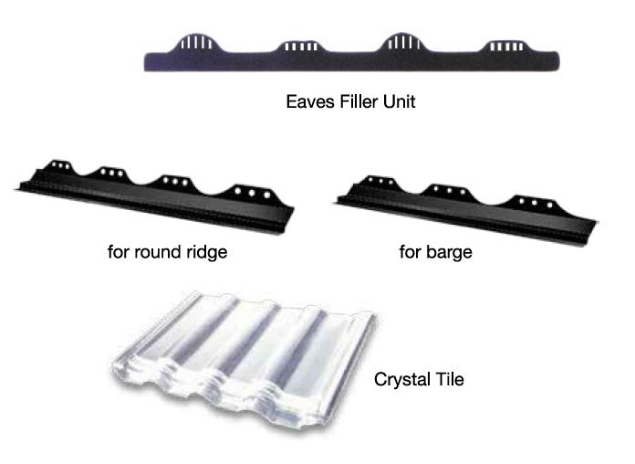 Ceramic Roof Tile accessories - SCG Excella Classic
