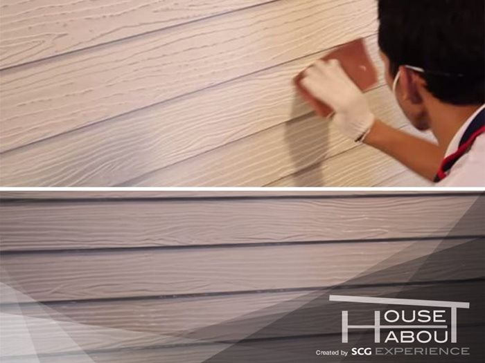 How to repaint Wood wall to keep it new