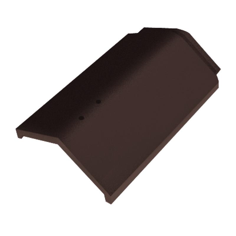 Modern Ceramic Roof - SCG Excella Modern round-ridge-coco-brown