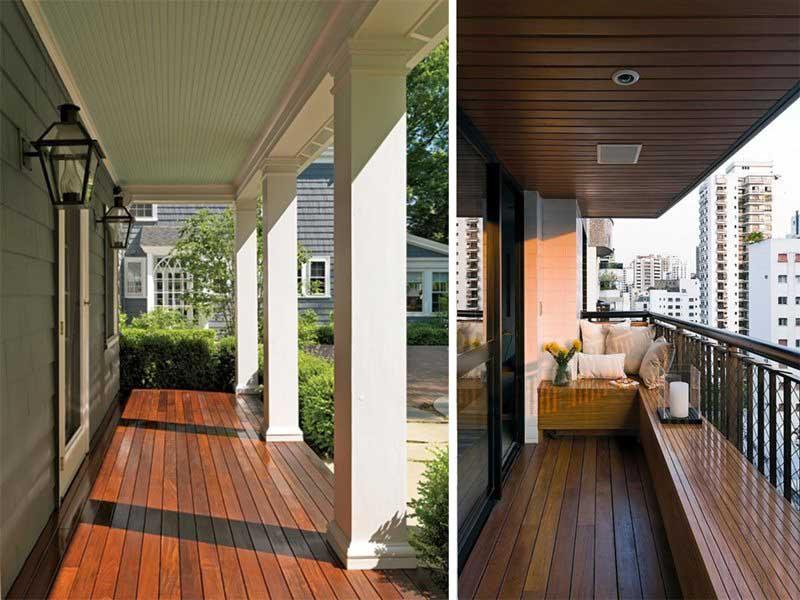 Real wood decking vs wood substitute decking