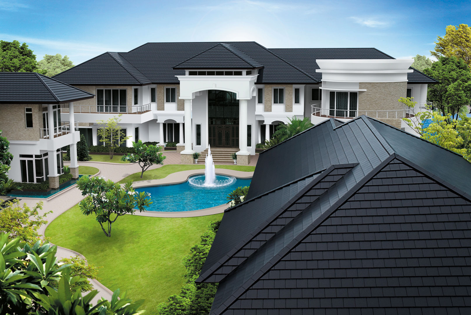 SCG Excella Modern - High quality modern ceramic roof