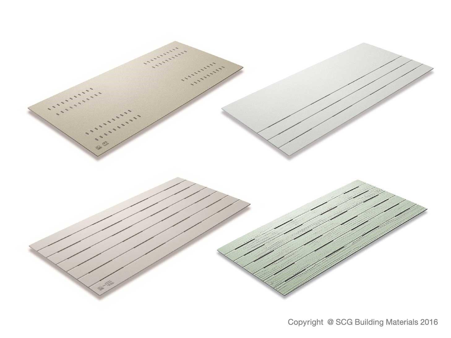 SCG Fiber Cement Board Ventilation Series - top quality fiber cement board ventilation