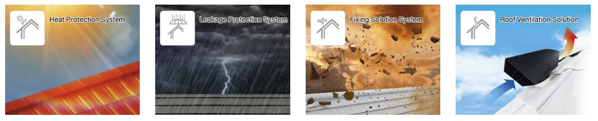 SCG Roof Solution - high quality roof materials