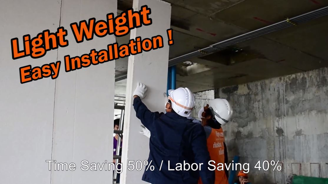 Wall panel fast install
