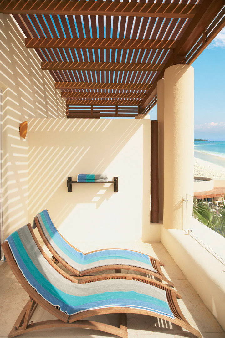 Artificial Wood Sunshade Louvers Inspiration for resort and hotel