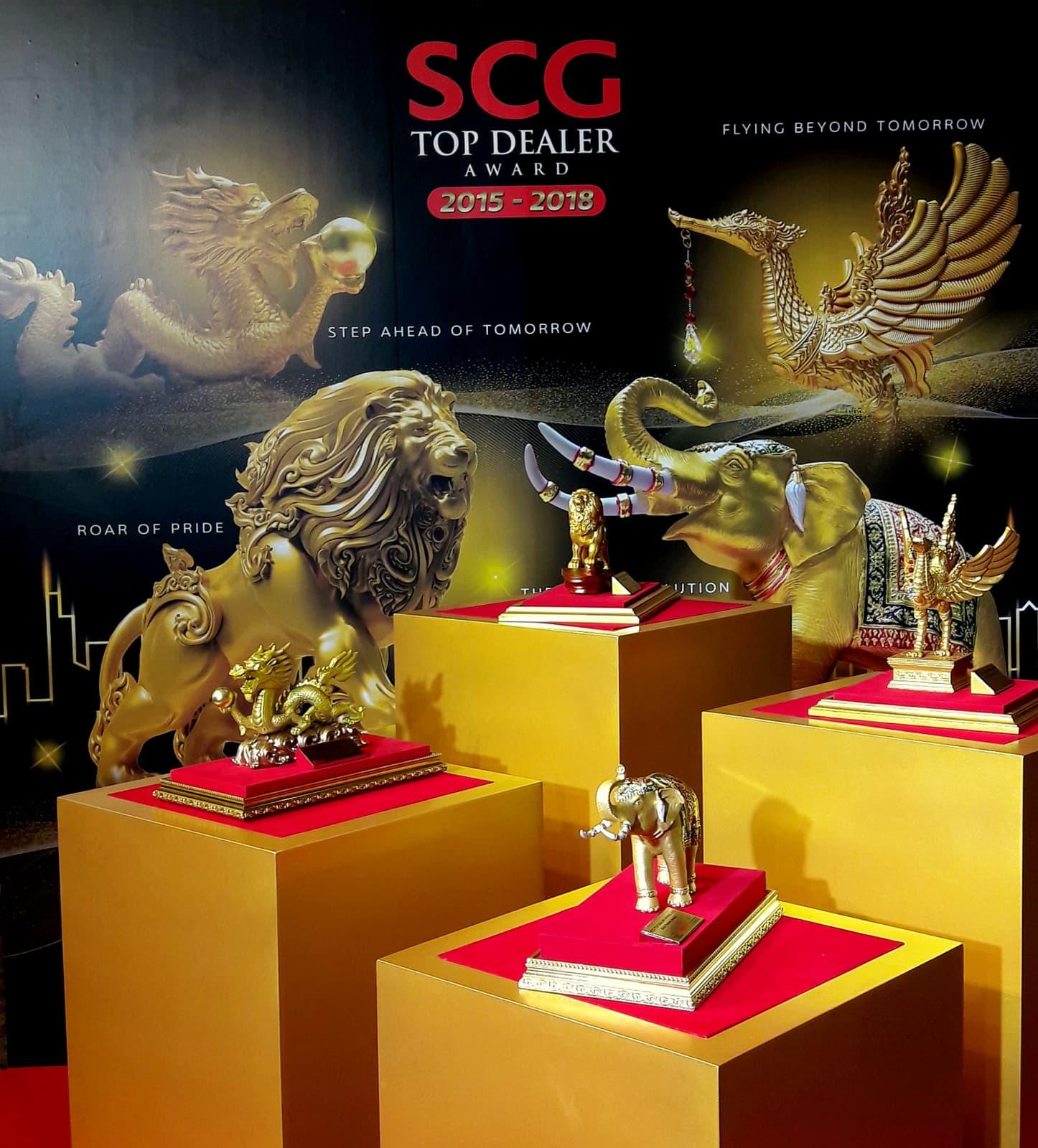 SCG Top Dealer Trophy in 2018