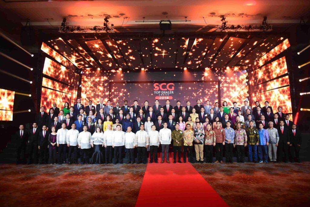 SCG Top Dealer celebratation event 2018