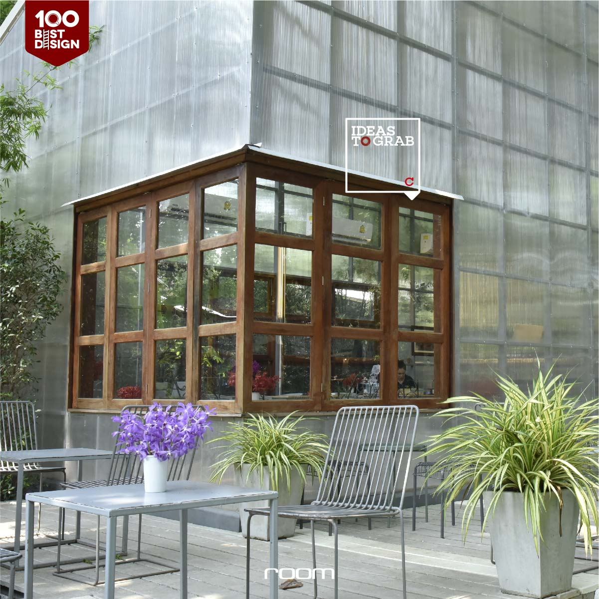 Design Idea for Green Cafe and restaurant