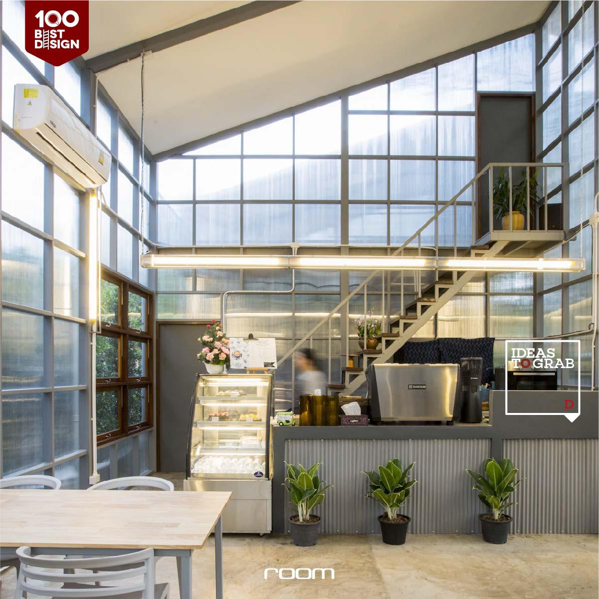 Economy Cafe Design Idea