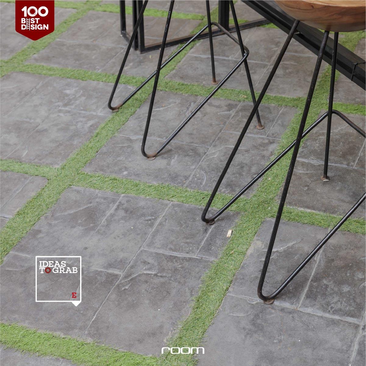 Floor for restaurant idea