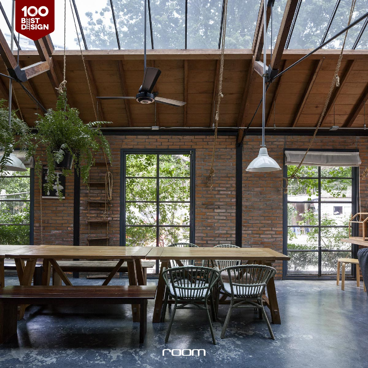 Loft Co working space idea