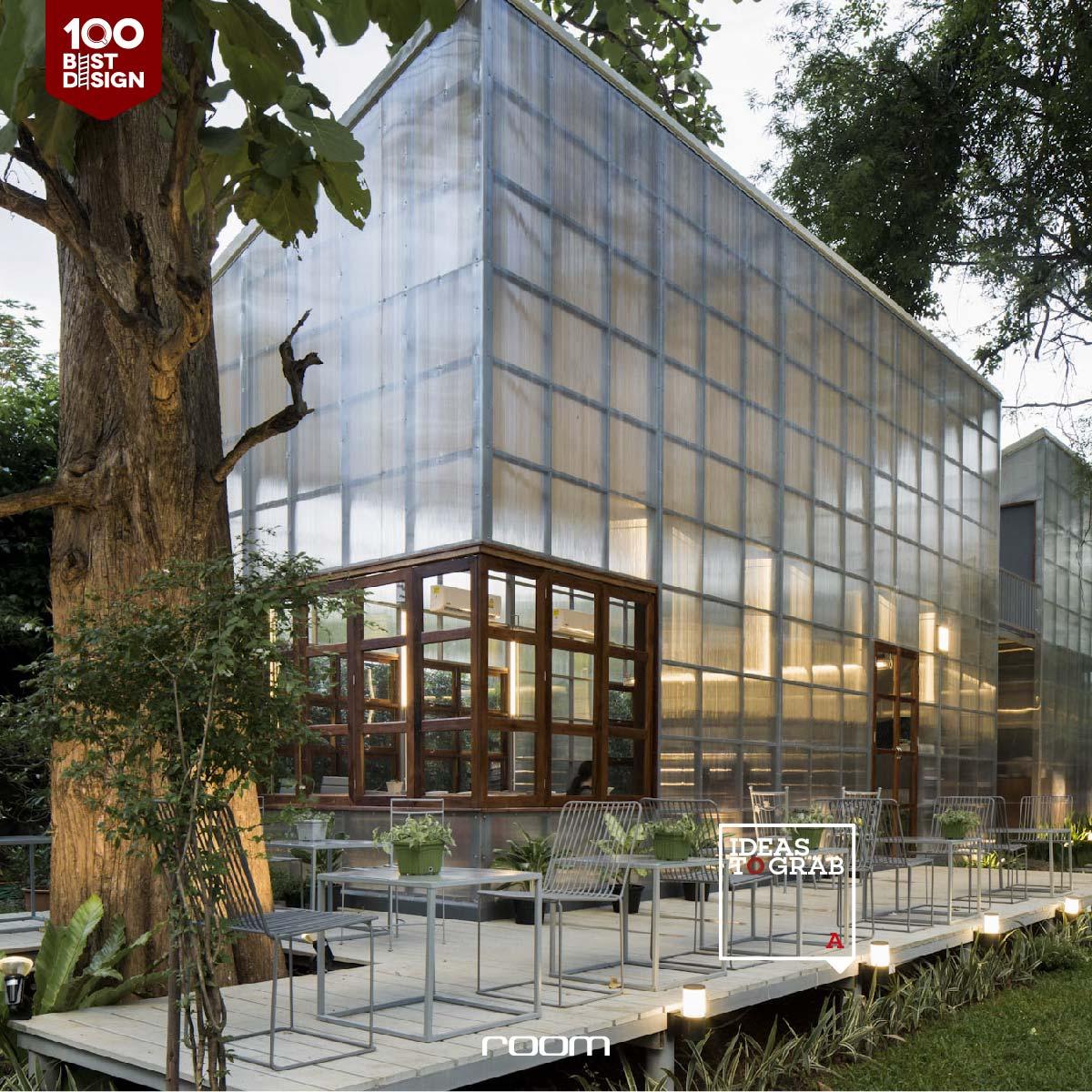 translucent Cafe Design Idea