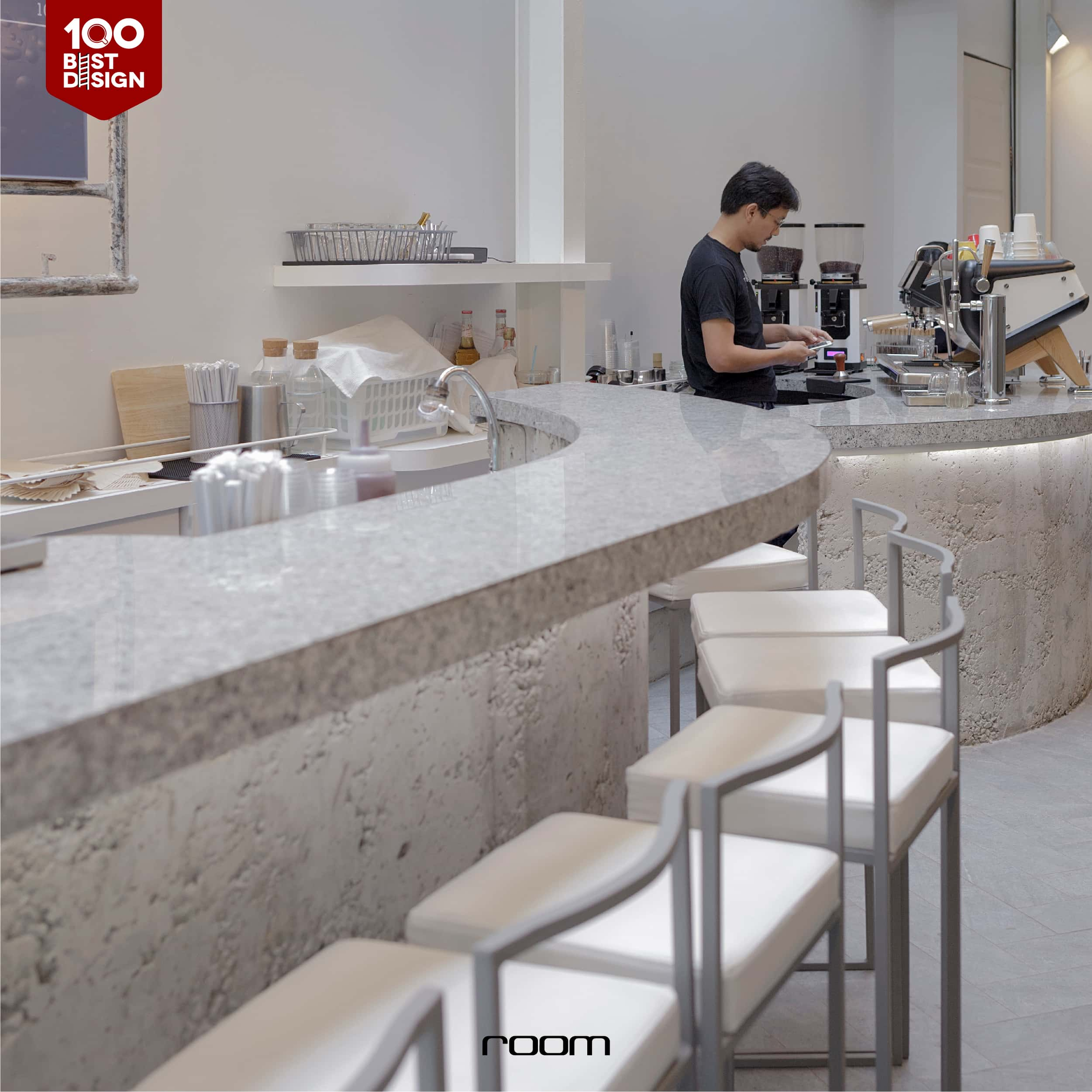 Loft Style Coffee Cafe Idea