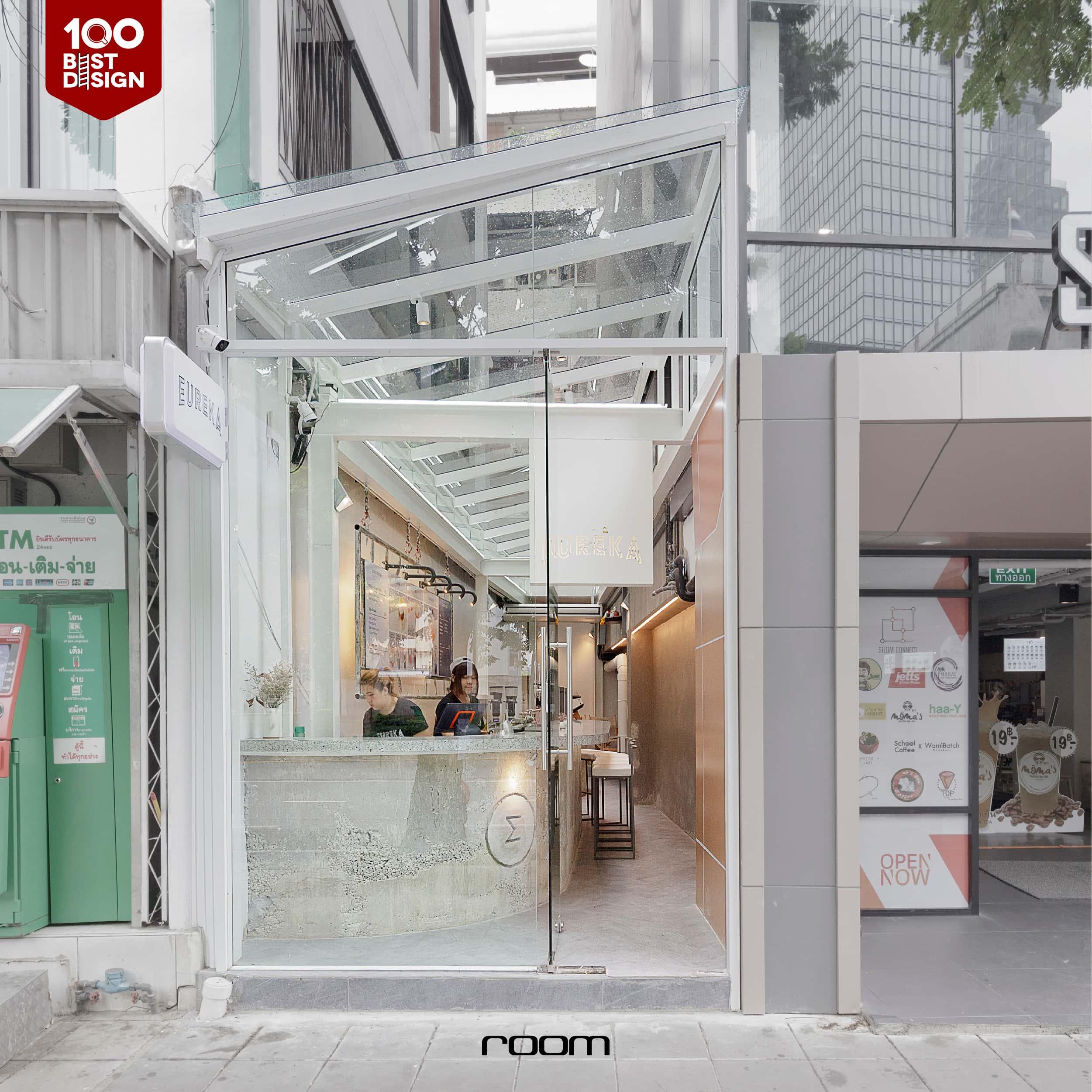 Small space cafe inspiration - Eureka Cafe Bangkok Thailand