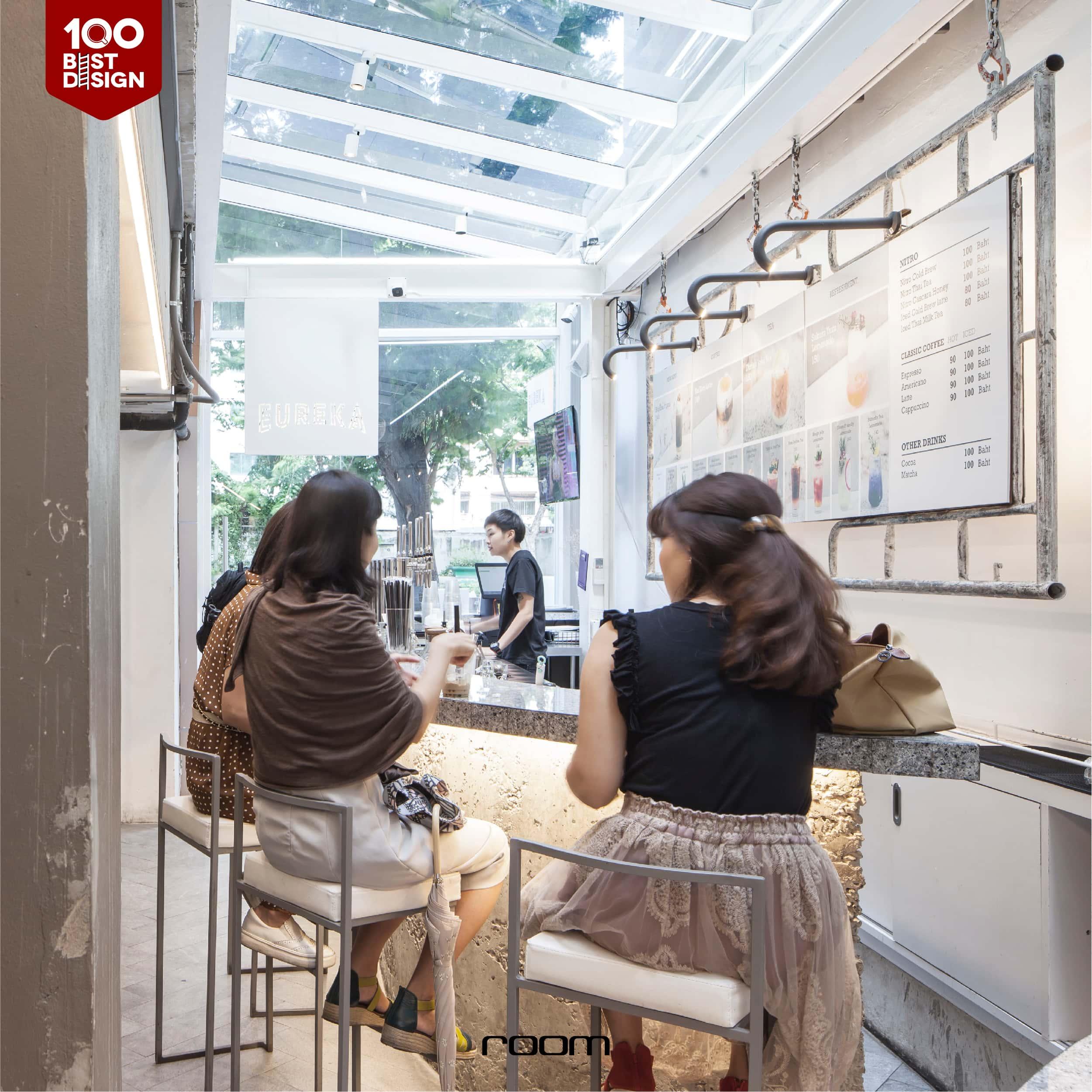 Street Loft Cafe Decoration idea