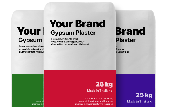 OEM Gypsum Plaster Manufacturer from Thailand