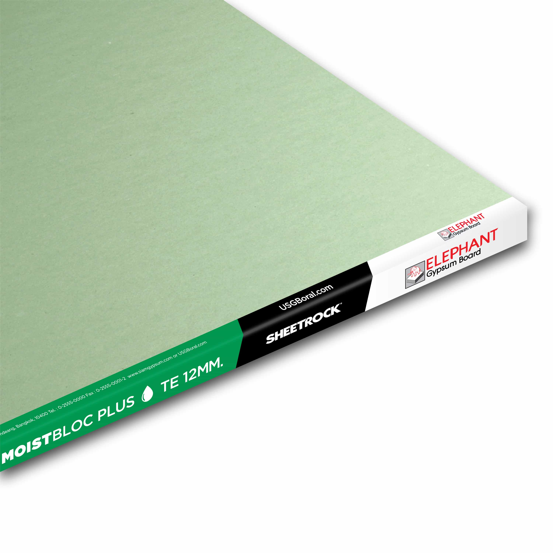 Best Quality Moisture Resistance Gypsum Board MoistBlocPlus-12MM - resize