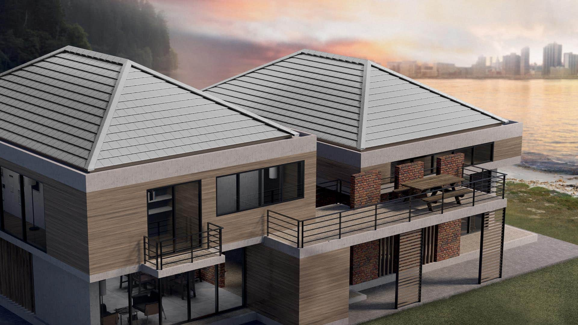 Concrete Roof for Modern House