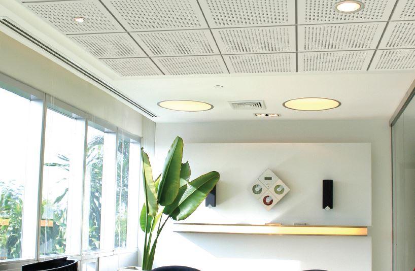 Elephant EchoBloc Tiles - Gypsum Ceiling Tile